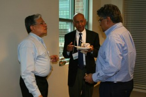 Ravi with Shyam and Vijay